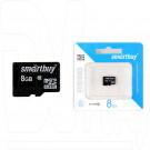 microSD 8Gb Smart Buy Class 10 без адаптера