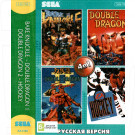 4в1 Bare Knuckle+Double Dragon1,2+ Hockey