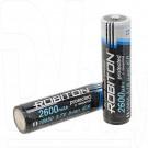 Аккумулятор 18650 Robiton 2600 mAh с защитой