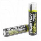 Аккумулятор 18650 Robiton 3400 mAh с защитой