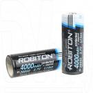 Аккумулятор 26650 Robiton 4000 mAh с защитой