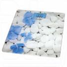 Электронные весы напольные BBK BCS3002G белo-голубые