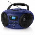 Магнитола BBK BX170BT темно-синий (Bluetooth)