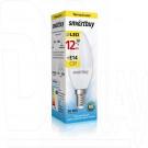 Светодиодная Лампа Smartbuy C37 Е14 12Вт теплый свет