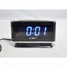 VST 721-5 часы настольные с ярко-синими цифрами