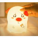 Детский светильник-ночник свинка