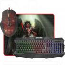 Комплект Defender Death Knight MKP-007 (клавиатура + мышь + коврик)