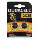 Duracell CR2025 BL2 упаковка 2шт.