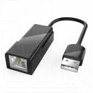 ETHERNET адаптер USB 2.0  (10/100/1000MB/s)