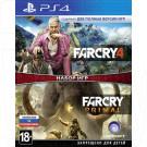 Far Cry 4 + Far Cry Primal (русская версия) (PS4)