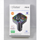 FM-трансмиттер Eplutus FB-13 Bluetooth, Handsfree, Quick Charge 3.0