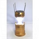 Фонарь кемпинговый JY-5700T с солнечной батареей
