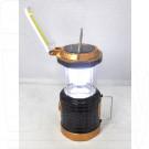 Фонарь кемпинговый YB-1063/1062 с солнечной батареей