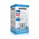 Светодиодная Лампа Smartbuy G45 Е27 12Вт холодный дневной свет