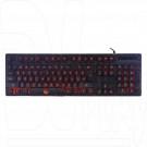 Клавиатура игровая Gembird KB-G400L черная с подсветкой