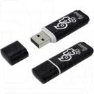 USB Flash 64Gb Smart Buy Glossy черная