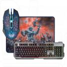 Комплект Defender Killing Storm MKP-013L (клавиатура + мышь + коврик)