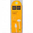 Кабель USB A - iPhone 4 (1 м) Hoco. X1