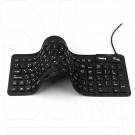 Клавиатура Dialog Flex KFX-03U гибкая черная