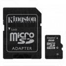 microSD 8Gb Kingston Class10 с адаптером