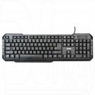 Клавиатура Dialog Multimedia KM-015U черная