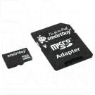 microSDHC 16Gb Smart Buy с адаптером