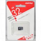 microSDHC 32Gb Smart Buy Class 10 UHS-I без адаптера