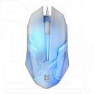 Мышь Defender MB-560L Cyber USB белая с подсветкой