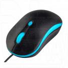 Мышь Perfeo Mount черно-голубая