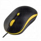 Мышь Perfeo Mount черно-желтая