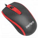 Мышь Perfeo Profil черно-красная