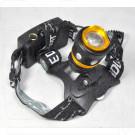 Налобный фонарь аккумуляторный YT-K20
