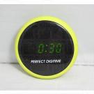 Perfect Digitime N-0506 часы для ванной комнаты с зеленой подсветкой