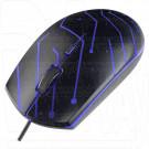 Мышь Perfeo Maze черная с подсветкой