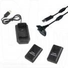 Зарядка Play & Charge Kit 5-in-1 XBOX 360 Slim (2 аккума+кабель+док.станция)