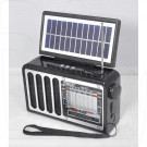 Радиоприемник CMiK MK-617 (Bluetooth\USB\microSD\Фонарь\Солнеч. батарея)