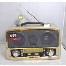 Радиоприемник Kemai MD-1701BT (Bluetooth\USB\ SD\MP3\microSD\220V)