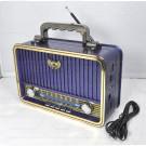 Радиоприемник Kemai MD-1907BT (Bluetooth\USB\MP3\microSD\220V)