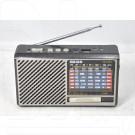 Радиоприемник Meier M-137U (USB\SD\MP3) + фонарик