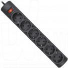 Сетевой фильтр Defender DFS 155 (6 розеток, 5 м)