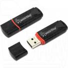 USB Flash 4Gb Smart Buy Crown черная