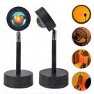 Светодиодная селфи лампа-прожектор YD-009 RGB