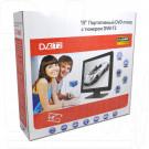 Телевизор LS-1902T TV (Analog + DVB-T2) + DVD