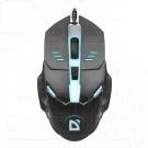 Мышь Defender MB-470 Ultra Matt USB черная