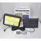 Уличный LED светильник YG-1432 на солнечной батарее с датчиком движения