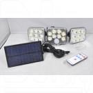 Уличный LED светильник YG-1690 на солнечной батарее с датчиком движения