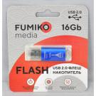 USB Flash 16Gb Fumiko Paris синяя