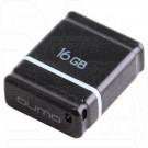 USB Flash 16Gb Qumo Nano черная