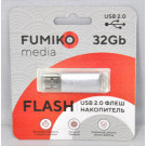 USB Flash 32Gb Fumiko Paris серебро