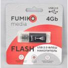 USB Flash 4Gb Fumiko Paris черная